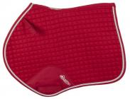 Anatomická skoková podsedlová dečka Equistro SS00207  - červená