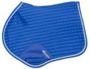 Anatomická skoková podsedlová dečka Equistro SS00207  - modrá