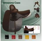 Dámské sedlo Zaldi Amazona Caza  * 17,5