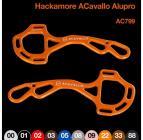 HACKAMORE CAVALLO ALUPRO AC799 - oranžová