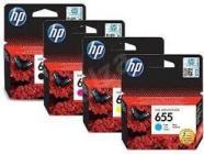 HP 655 Inkoustová cartridge