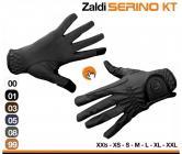 Jezdecké rukavice Zaldi SERINO KT  * 01 černá, velikost