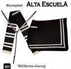 Komplet Alta Escuela - stříbrno-černý