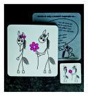 Koník s kytičkou