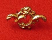Malá ozdoba 'Abelhina' - zlato
