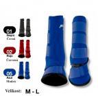 Neoprénové chrániče PROTECH + zvony, modré M