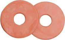 Ochranný kroužek na udidlo, gumový, velký - barva červená