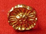 Ozdoba - květina 1 - zlato
