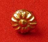 Ozdoba - květina - zlato