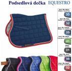 Podlsedlová dečka EQUESTRO SS00560 - modro / černá