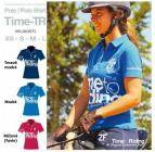Tričko POLO TIME-TR - dámské - tmavě modré: L