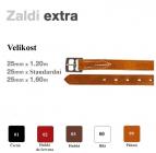 Třmenové řemeny Zaldi Exta 25 mm x standard